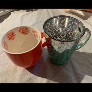 Other - 2 good David's tea mugs